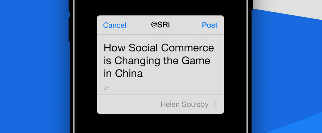 Social Commerce in China - An SRi Report