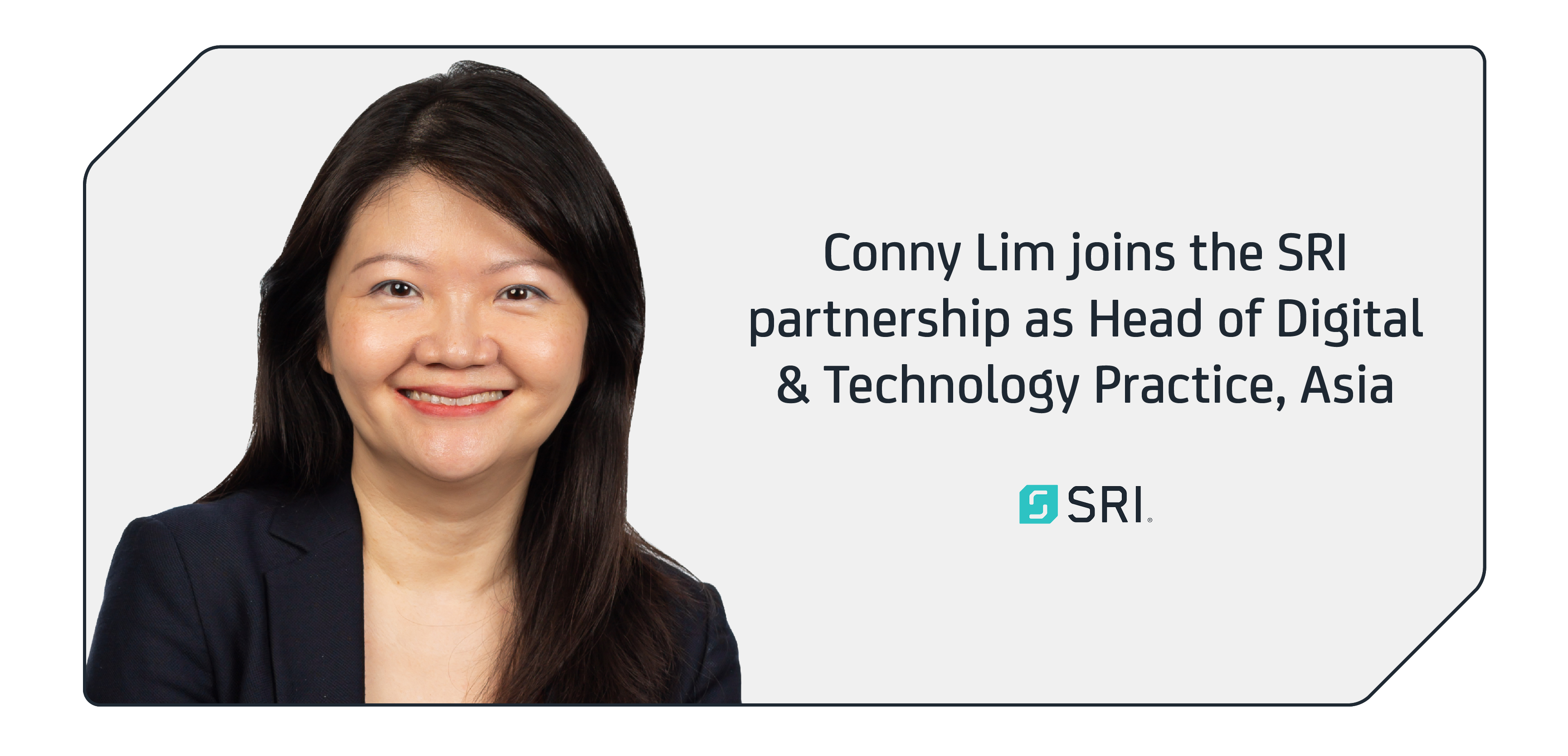 Connie Lim joins SRI as head of digital and technology, Asia